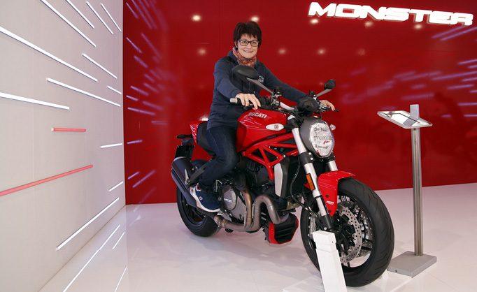 Besinnung auf den Ursprung des Monsters Anfang der 90ziger - die Ducati Monster 1200 S