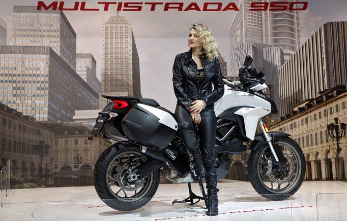 Eine tolle Resebegleiterin die Ducati Multistrada 950