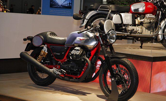 Zum 50.Geburtstag der V7 Ikone, gibt´s gleich 4 Varianten der Moto Guzzi V7 III