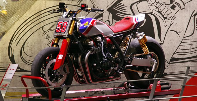Flat-Track-Racer CB1100 TR- Tolle Studie von Honda auf Basis der CB1100